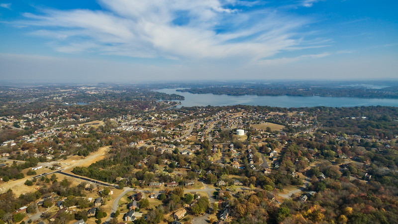 Berry Hill and Old Hickory Dam - November 14, 2016