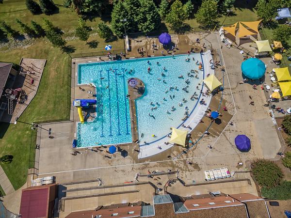 YMCA Canine Summer Splash Aerial Photos - September 10, 2016