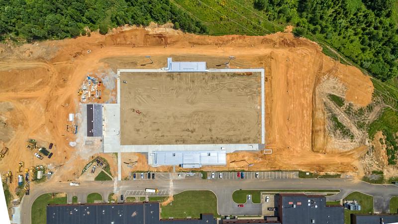 Springfield High School Football Field Construction - June 13, 2017
