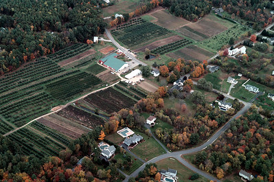 Located in the west central part of Londonderry, New Hampshire the farm is on High Range Road cutting through the center of the farm.  It also borders Adams Road a historic scenic byway in New Hampshire.