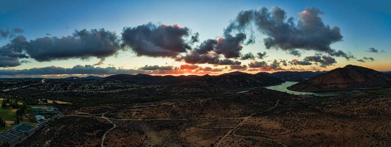Lake Hodges Sunset