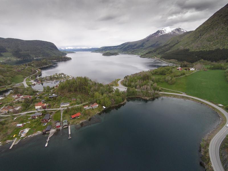 Kalveneset, Rødvenfjorden