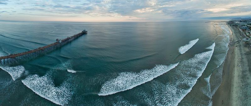 Oceanside Pier Panoramic #30