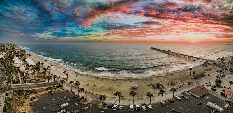 Colors of the Oceanside Pier