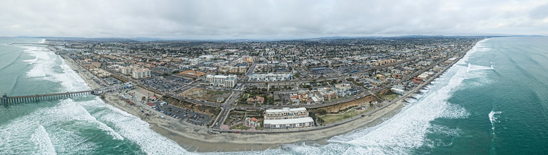 Oceanside Coastal Panoramic