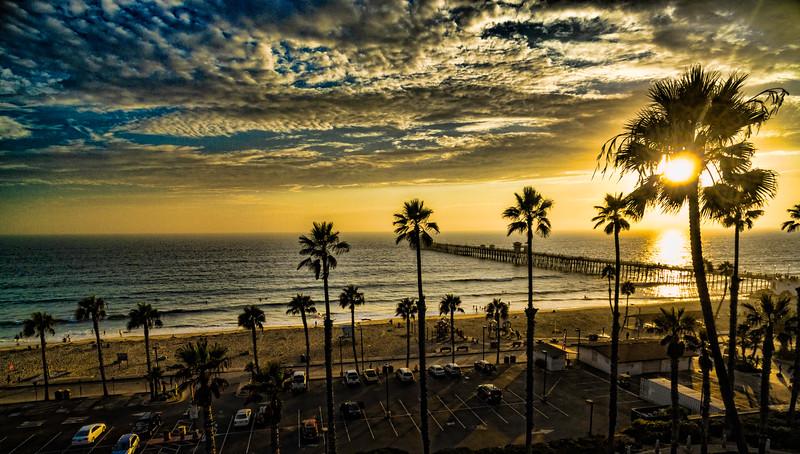 Sunset Palms in Oceanside