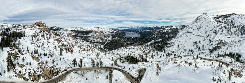 Donner Pass Aerial