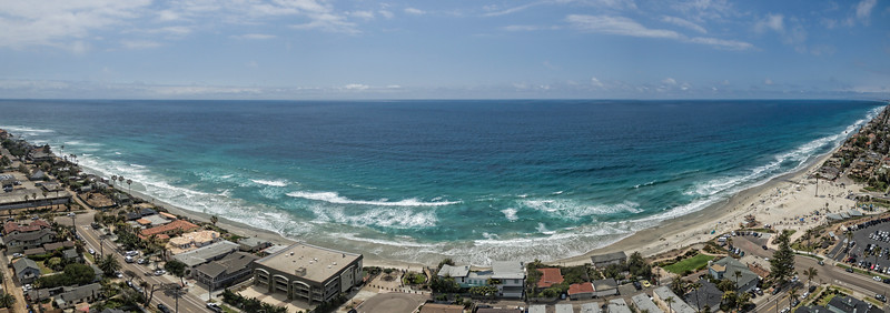 Moonlight Beach - Encinitas, California, USA pano #1