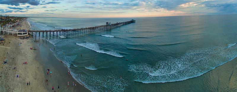 Oceanside Pier Aerial #18