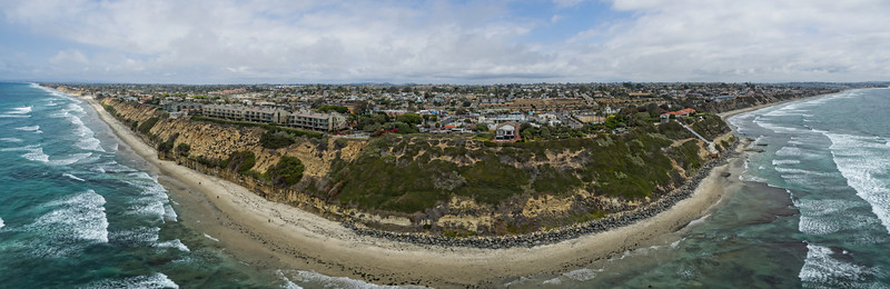 Swamis Point, Encinitas panoramic