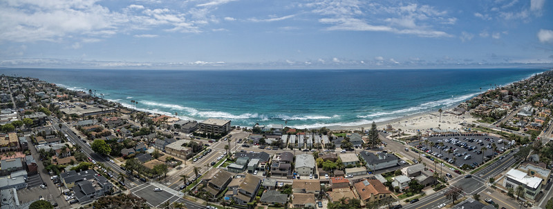 Moonlight Beach - Encinitas, California, USA pano #2