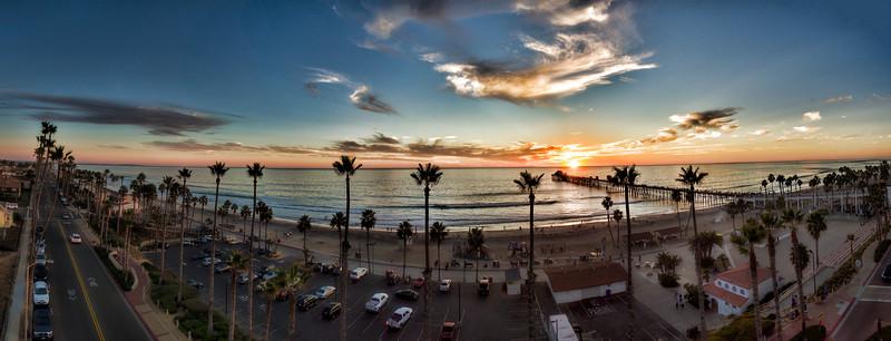 Sunset at the Oceanside Pier #35
