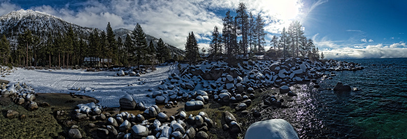 Sand Harbor Panoramic