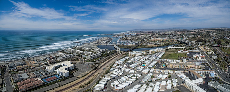 Oceanside Panoramic - Harbor Area