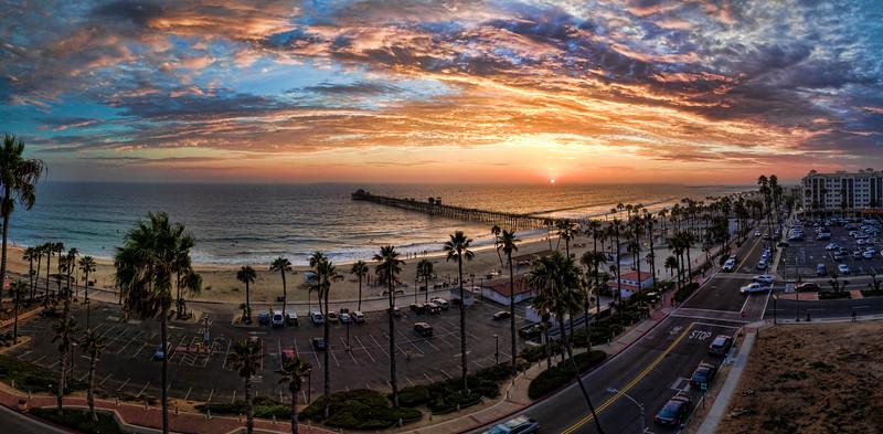 Oceanside pier sunset #2