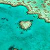Heart Reef Vertical Lagoon View