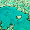 Heart Reef in Lagoon