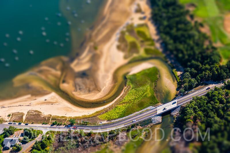 Jacknife Cove and Monomoy River Bridge in Miniature