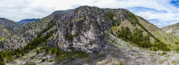 Green Canyon Rock Mountain