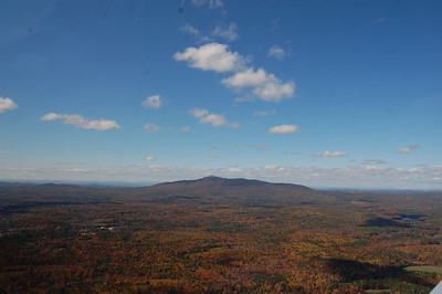 Mt. Monadnock from the sky during fall foliage - October 12, 2010 - 3