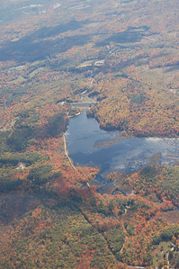 MacDowell Dam/Lake - Peterborough, NH, October 12, 2010