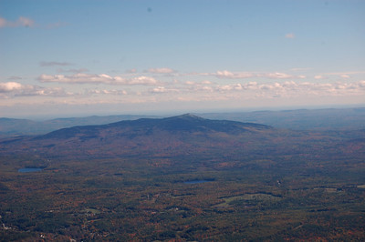 Mt. Monadnock from the sky - October 12, 2010
