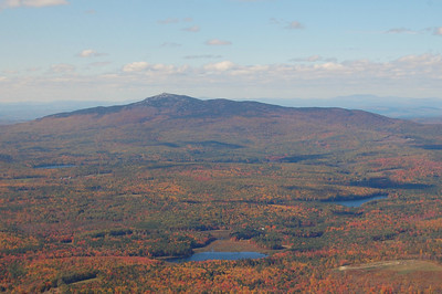 Mt. Monadnock from the sky during fall foliage - October 12, 2010 - 2