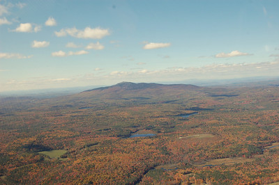 Mt. Monadnock from the sky during fall foliage - October 12, 2010 - 4