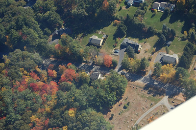 My house from the air - October 12, 2010