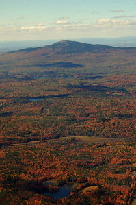 Mt. Monadnock from the sky during fall foliage - October 12, 2010 - 1