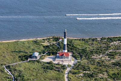 FIre Island Lighthouse From Above