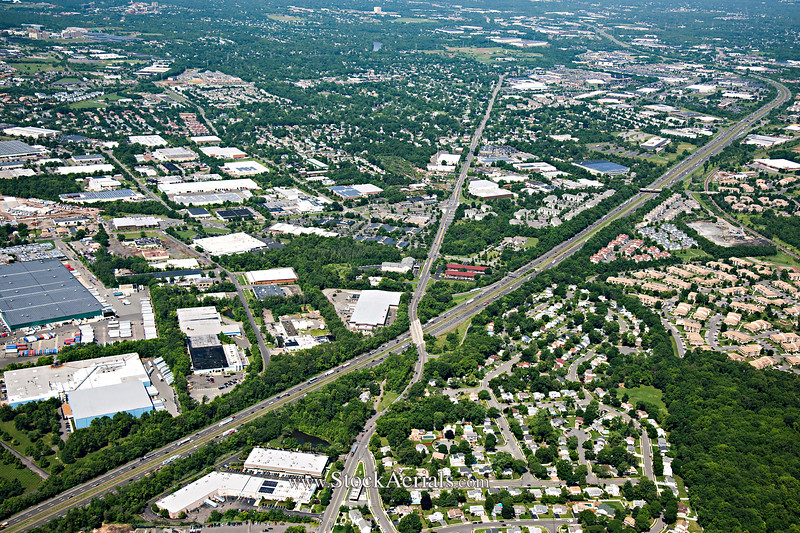 Aerial Photography of NJ Rt 287 Exit 3