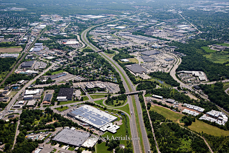 Aerial Photography of NJ Rt 287 Exit 6