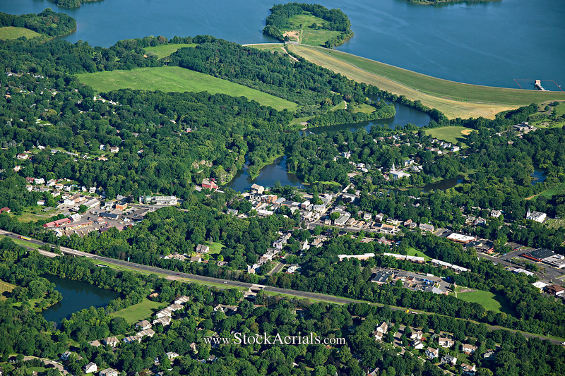 Aerial Photography of Clinton NJ