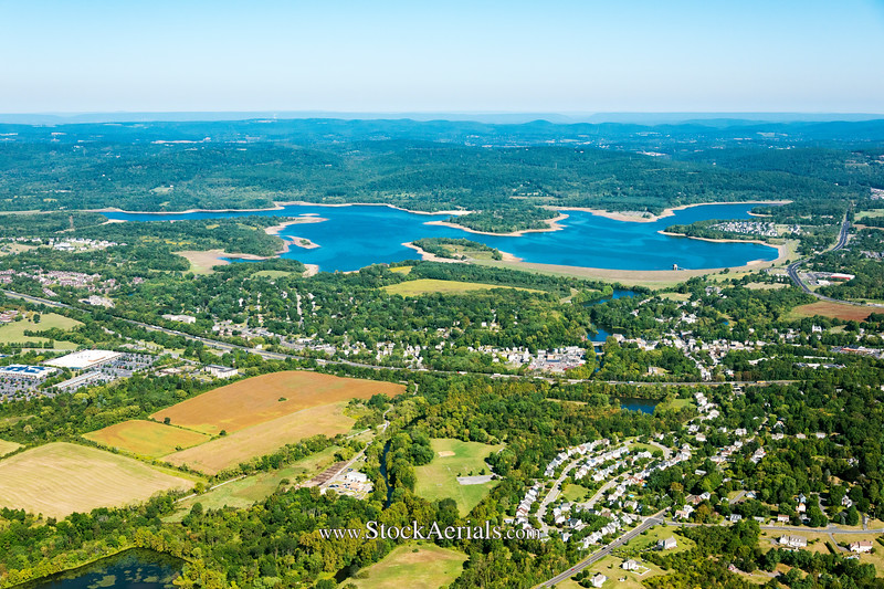 Aerial Photography Clinton NJ - Stock Aerials Photography