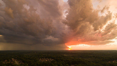 Storms in Floyds Knobs,  Indiana