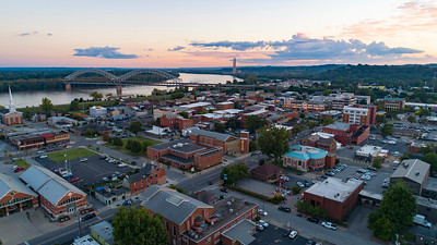 New Albany at Sunset