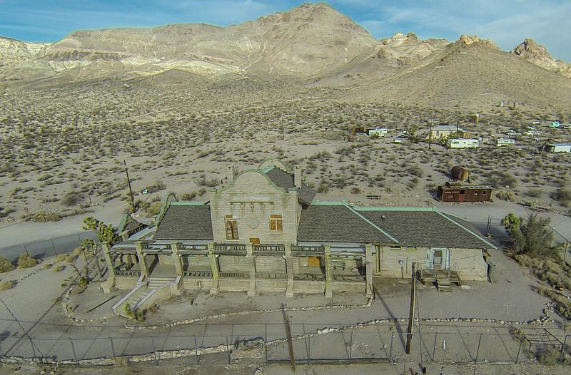 026 Las Vegas & Tonopah Railroad Depot, built 1908, Rhyolite, NV