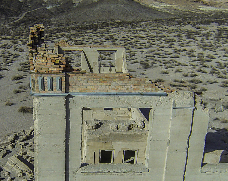 023 Cook Bank Building, built 1908, Rhyolite, NV