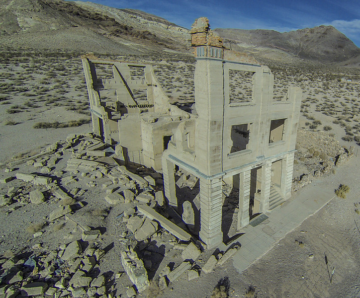 024 Cook Bank Building, built 1908, Rhyolite, NV