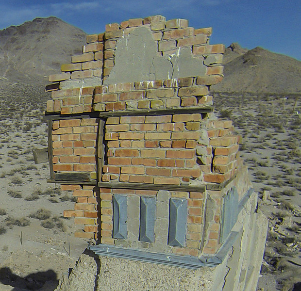 022 Cook Bank Building, built 1908, Rhyolite, NV