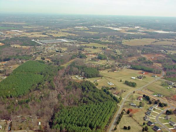 Aerial Photos - Conover, NC - March 2004