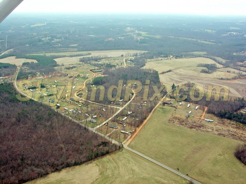 Aerial Photo of Claremont - Circle F Ranch Road - Twilight Drive - Morning Drive - Old Catawba Road