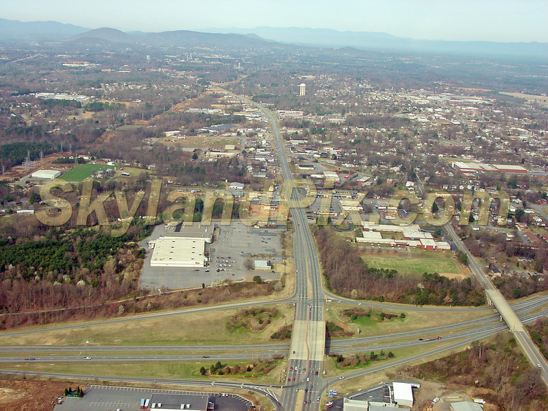 Hickory, NC - Intersection of Highway 70 and 321 - shooting West toward Longview