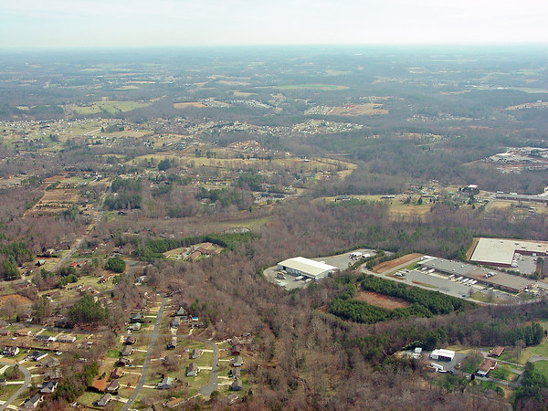 Aerial Photos - Hickory, NC - Northeast - Highland Avenue, Tate Boulevard & Springs Road Areas