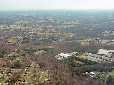 Aerial Photos - Hickory, NC - Northeast - Highland Avenue, Tate Boulevard & Springs Road Areas