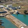 Water Treatment Plant, Kerrville, Texas. UGRA Dam. Sunset Lake. City of Kerrville.