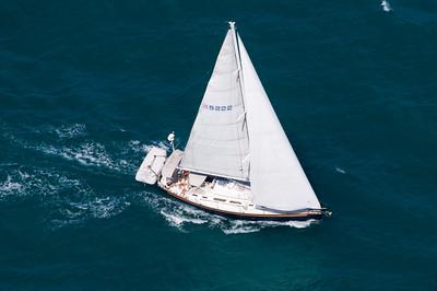 Aerial shots of Sailboat 05/03/2008