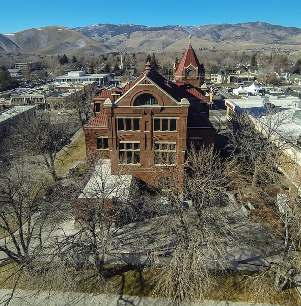Paul Laxalt State Building, Carson City, Nevada.  Built in 1891.  Home to Nevada Magazine.