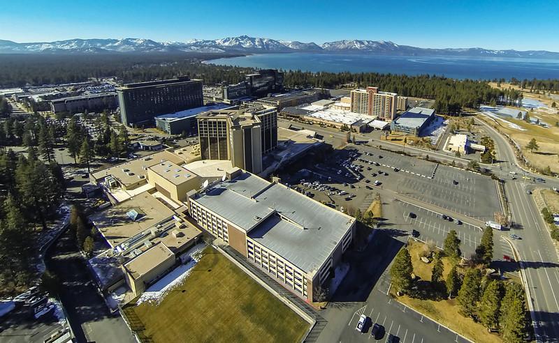 "MontBleu, Harrah's, Horizon and Harvey's casinos, Stateline, Nevada at Lake Tahoe. <a href=""http://ireport.cnn.com/docs/DOC-1076811///"" target=""_blank""> Jan. 20, 2014 drought report on CNN.</a>"